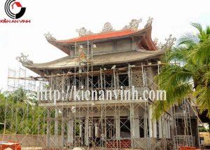 Thi công chùa miếu đẹp – Kiến An Vinh